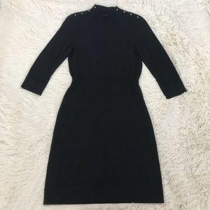 White House Black Market Fine Knit Sweater Dress